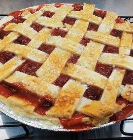 Cafe Artiste Strawberry Rhubarb Pie  9 inch