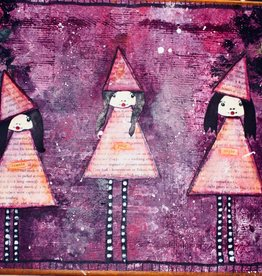 Melissa K Mixed Media 3 witches Thurs Oct 1 6:00 pm