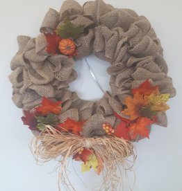 Ruth F Burlap Wreath   Wed Oct 7  6:00 pm to 8:00 pm