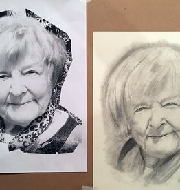 Nick W Portrait Drawing for Beginners Tues Oct 13, 20, 27 & Nov 3
