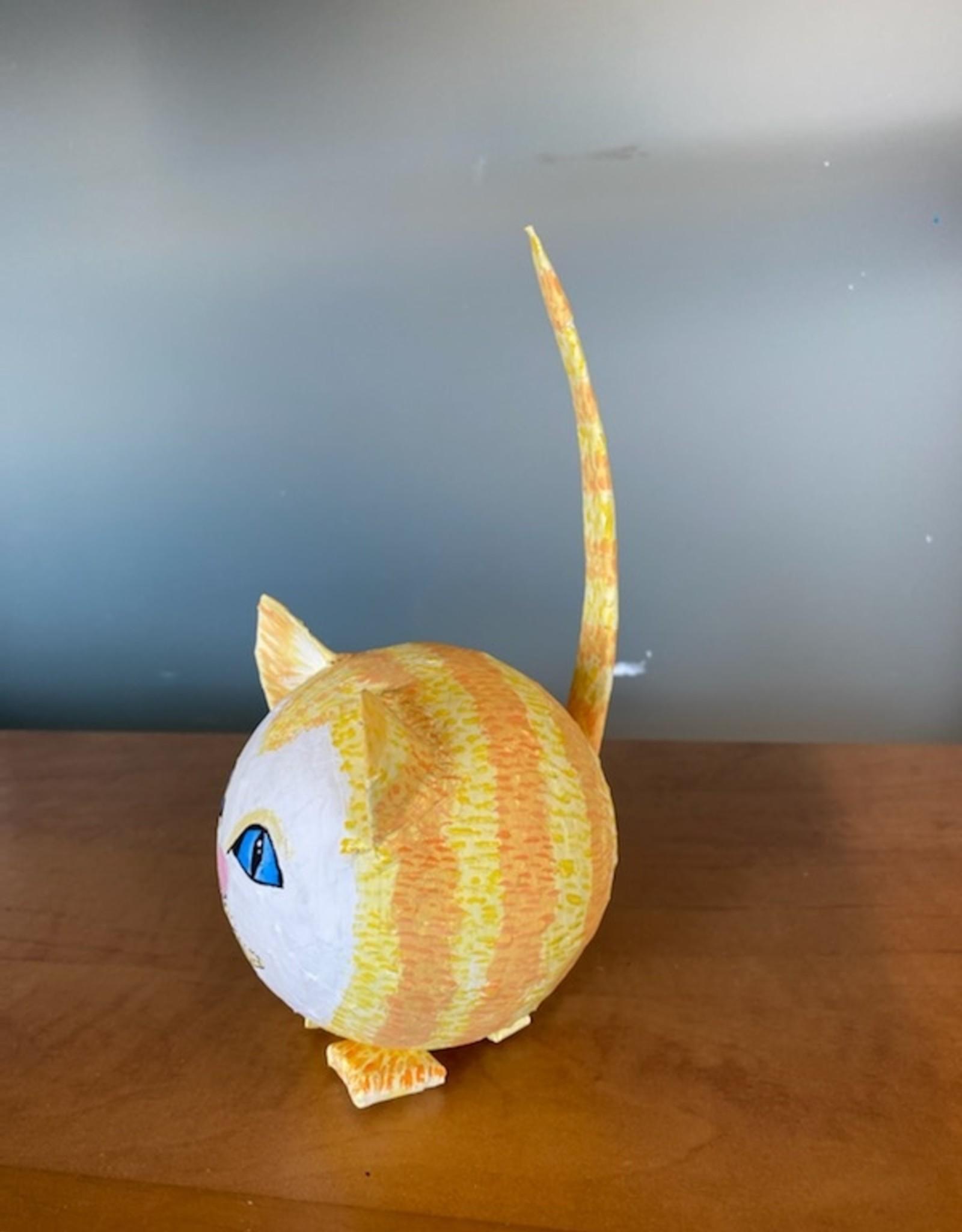 Amsa Paper Mache kitten  Tues Nov 3  4:00 to  5:30  pm