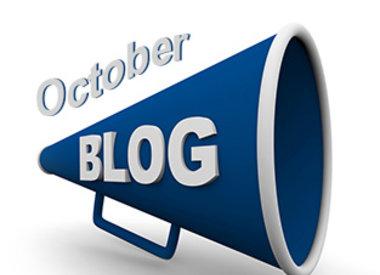 October Blogs