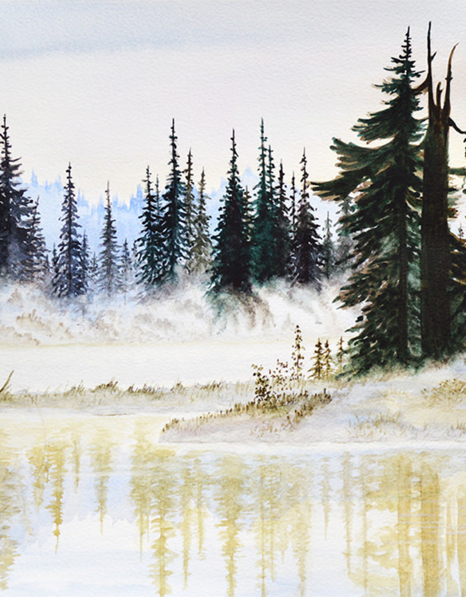 Tamara S  Acrylic Foggy Forest Tues Dec 8 11:00 am to 1:30 pm