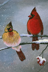 Tamara S Acrylic Two Cardinals Wed Dec 16 11:00 am to 3:00 pm