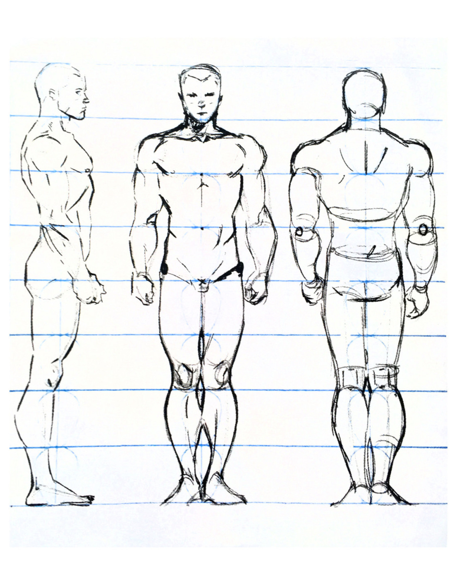 Nick W Youth Figure Drawing  Sat Feb 13, 20, 27 11:00 to 12:00 pm