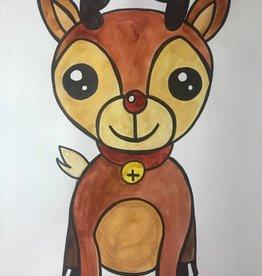Loretta Drawing Art Class  Reindeer Tues Dec 8 4:15-5:15 pm