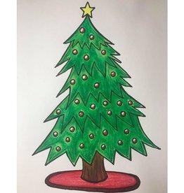 Loretta Pastel Art Class Christmas Tree Tues Dec 8 6-7 pm