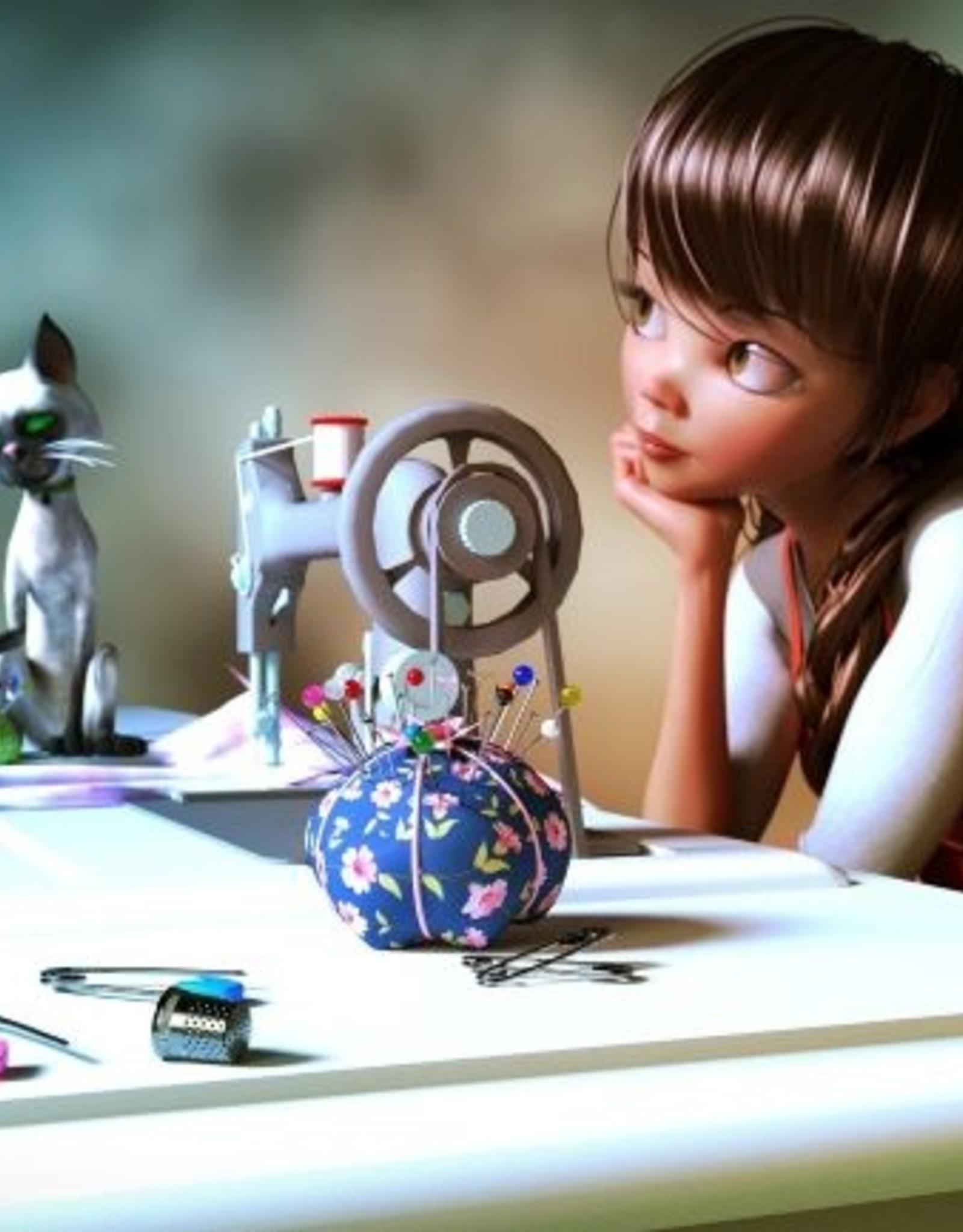 Fibre Art Class Kids/Youth Sewing  Level 1 Sun Feb 14  to Sun March 7