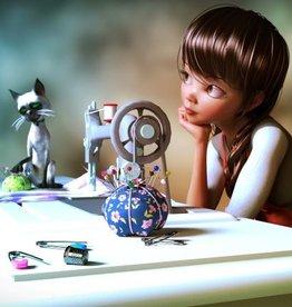 Fibre Art Class Kids/Youth Sewing  Level 1 Sun Feb 28 to  Sun March 21  1- 2:30 pm