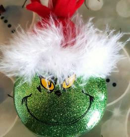 Leena P Mixed Media  Art Class Grinch Christmas Ornament  Sat Dec 5  11-12:30 pm