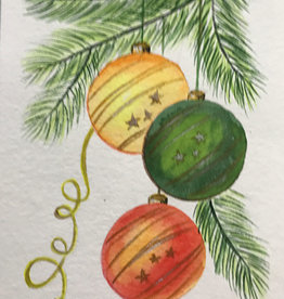 Tamara Watercolour Art Class Christmas Card Tues Dec 8 2:00 pm to 3:00 pm