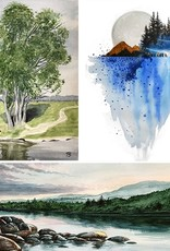 Tamara S Watercolour Art Class Level 3 Jan 27-Wed Feb 17  2- 4:00 pm