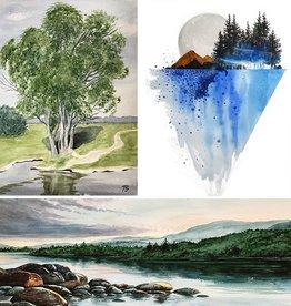 Tamara S Watercolour Art Class Level 3  Wed Jan 27-Wed Feb 17 2- 4:00 pm