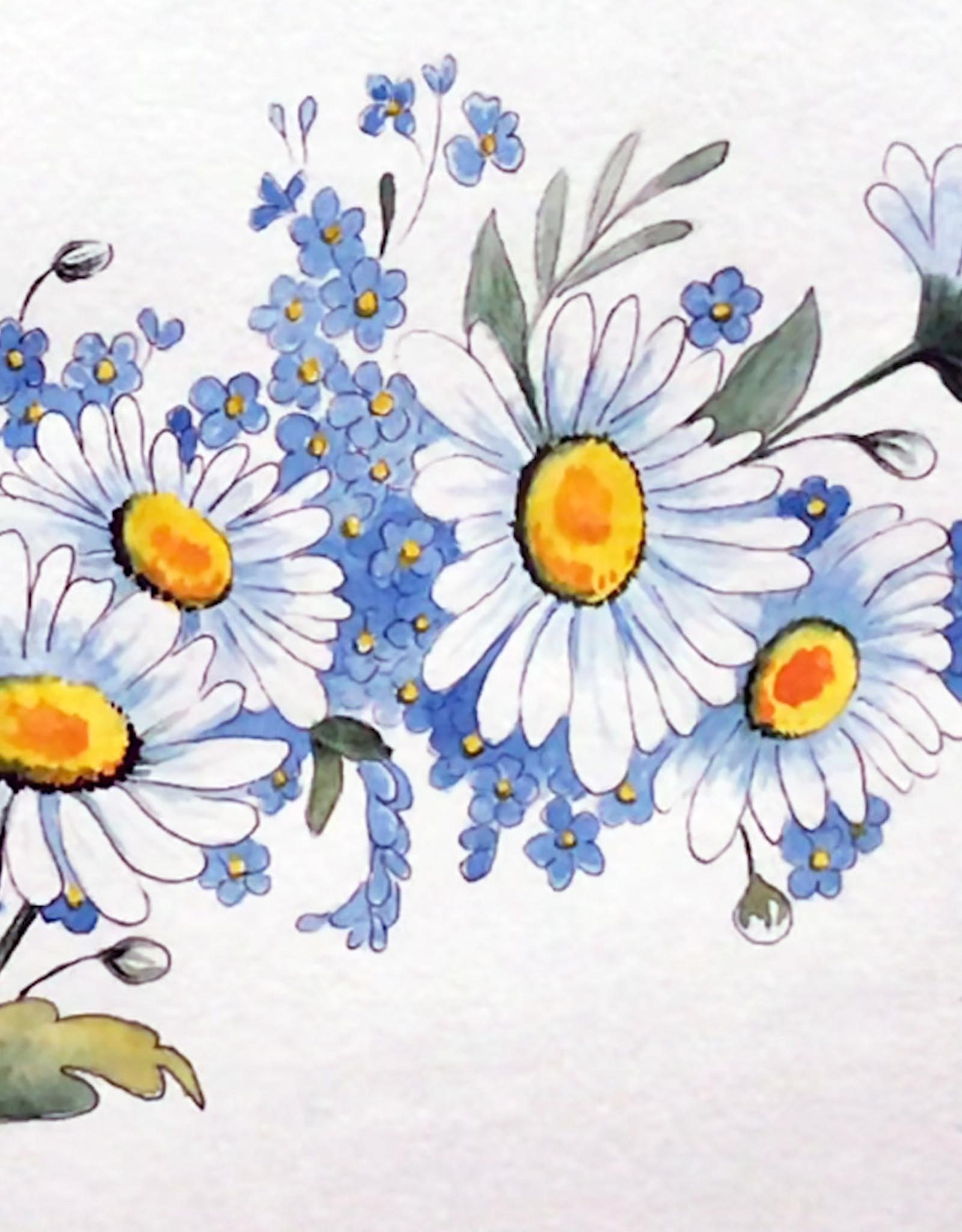Tamara S Watercolour Art Class Daisies Wed March 10 2:00  to 4:00 pm
