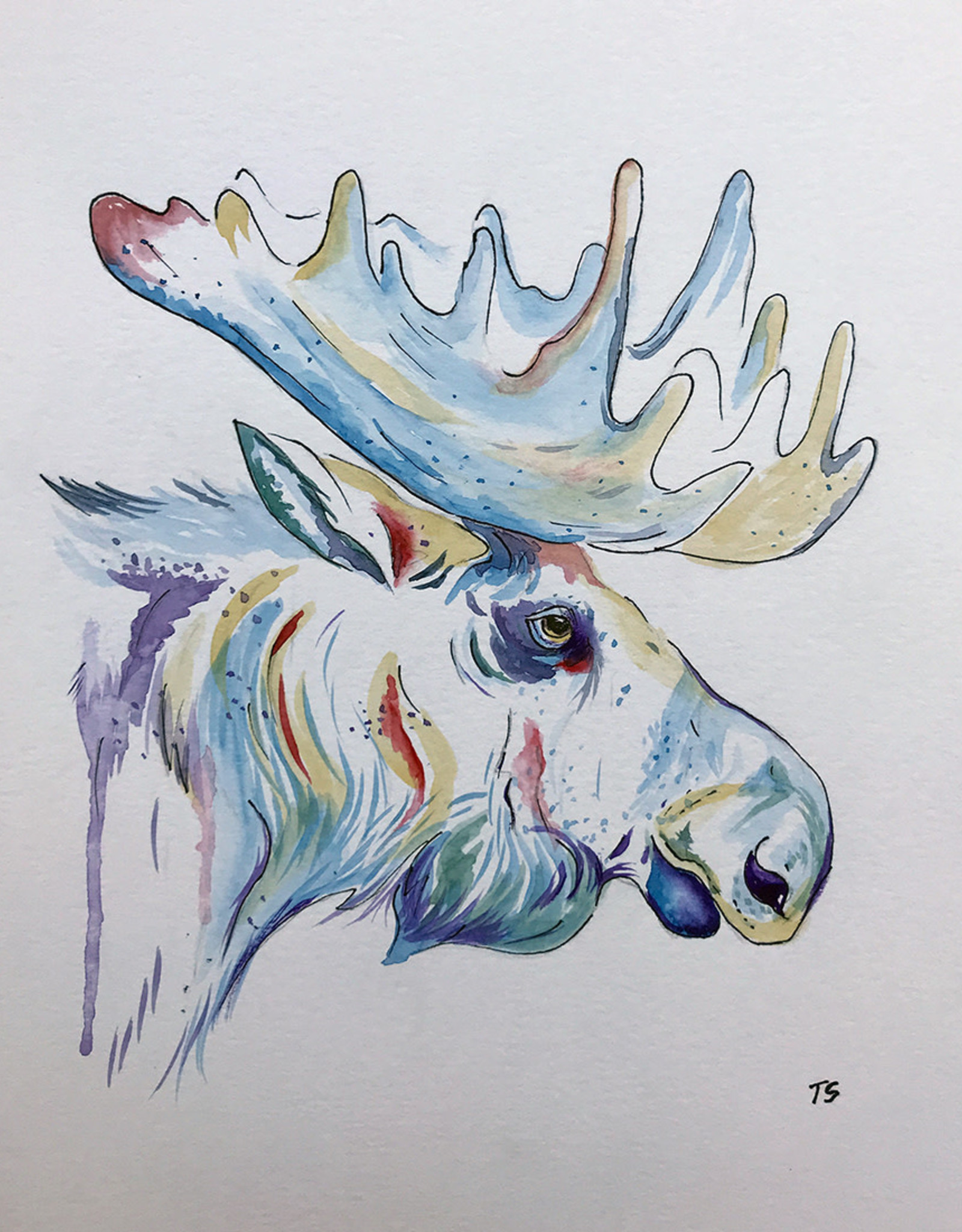 Tamara S Watercolour Art Class Moose Tues Feb 23 11-1:00 pm