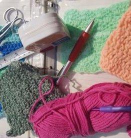 Ruth F Fibre Art Class Crochet  Beginners Tues Feb 16-Tues March 9 6:30 -8:00 pm