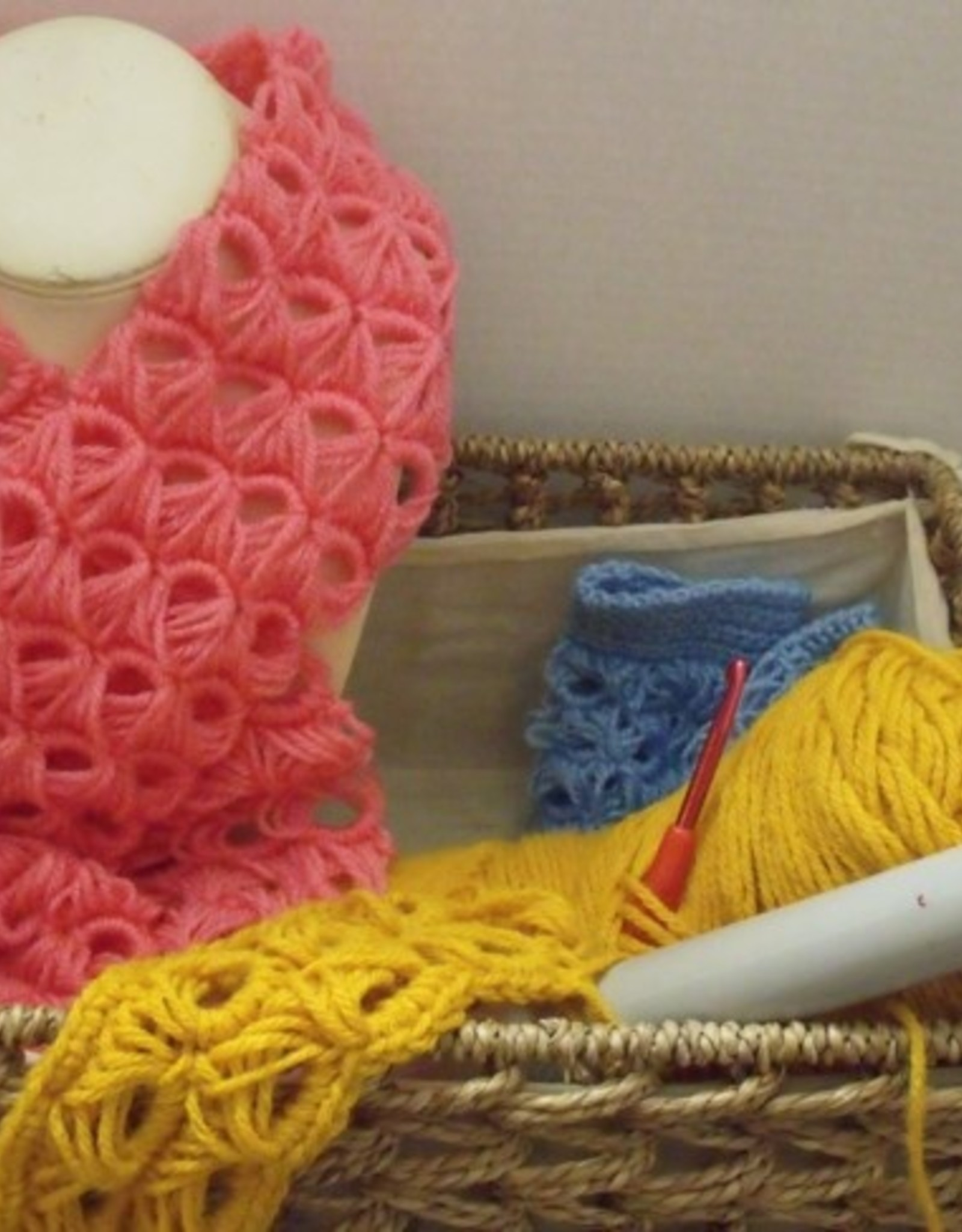 Ruth F Crochet Art Class Broomstick Lace Thurs Jan 28 1- 3:00 pm