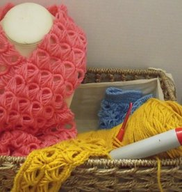 Ruth F Crochet Art Class Broomstick Lace Thurs Jan 28 1- 3:00 pm