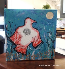 Amsa Mixed Media Art Class Artful Raven Tue Jan 26 2-3:30pm