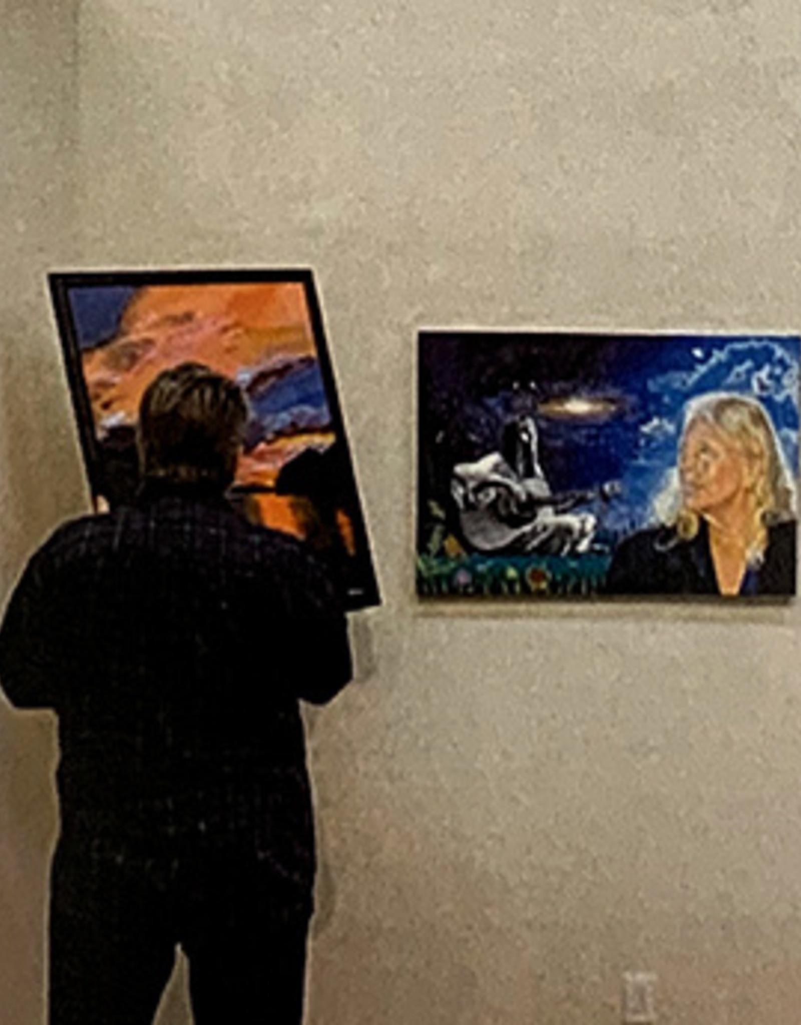 Full Wall Artist in Residence: Full Wall Rental