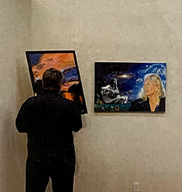 Artist in Residence Half Wall Rental