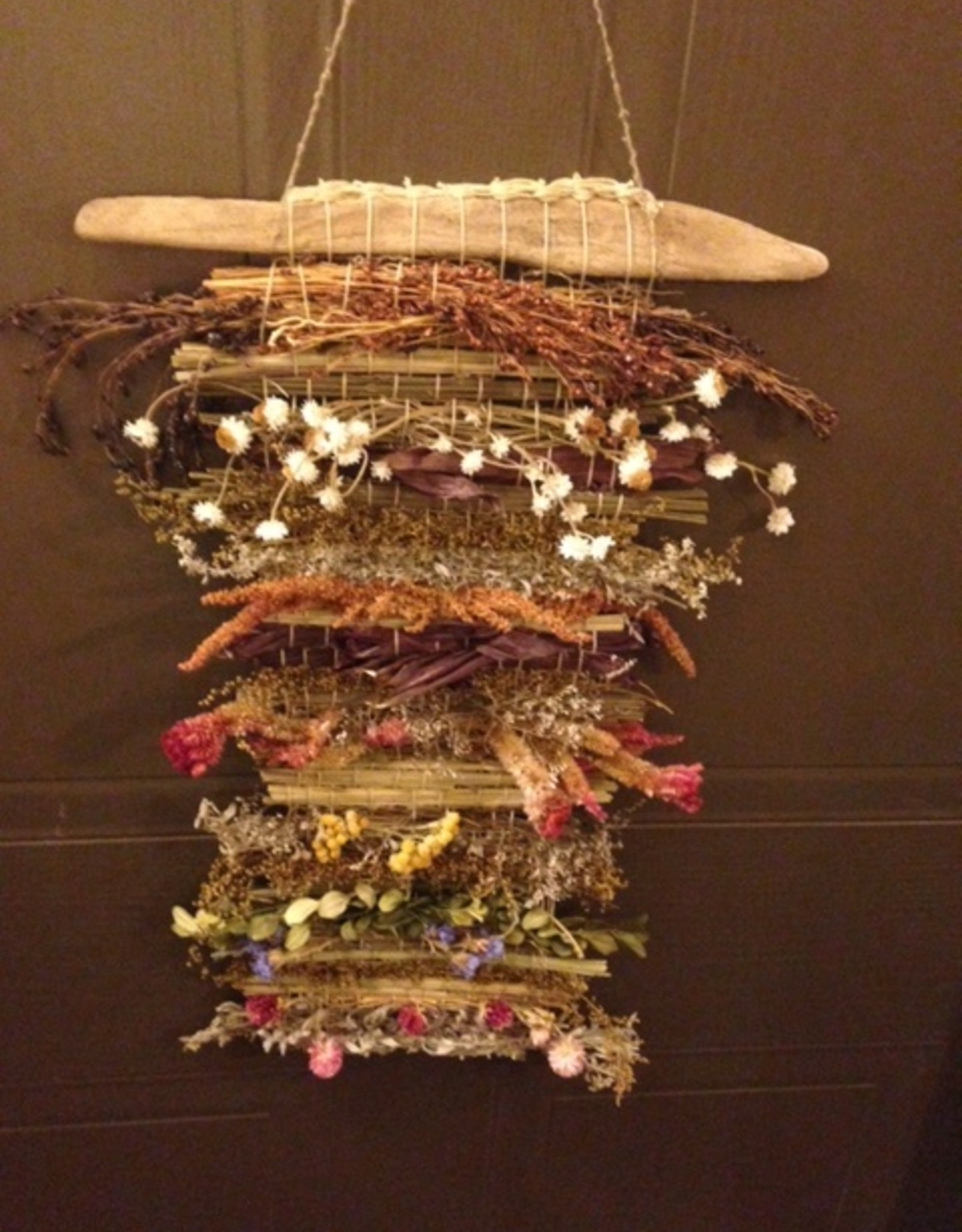 Marsh M Weaving Art Class with Dried Herbs  Wed Jan 27  1 -3:30 pm