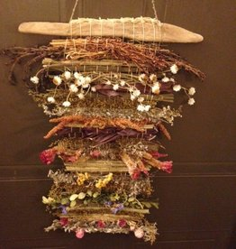 Marsh M Weaving Art Class with Dried Herbs  Wed May 12  1 -3:30 pm