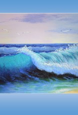 Tamara S Acrylic Art Class Sea Wave Wed March 17 11:00 am to 1:30 pm