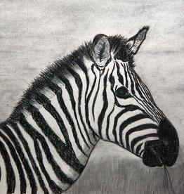 Jim G Charcoal Art Class Zebra  Sat March 6 10 -12:00 pm