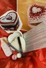 ART KIT Art Kit: Ceramic Heart Box