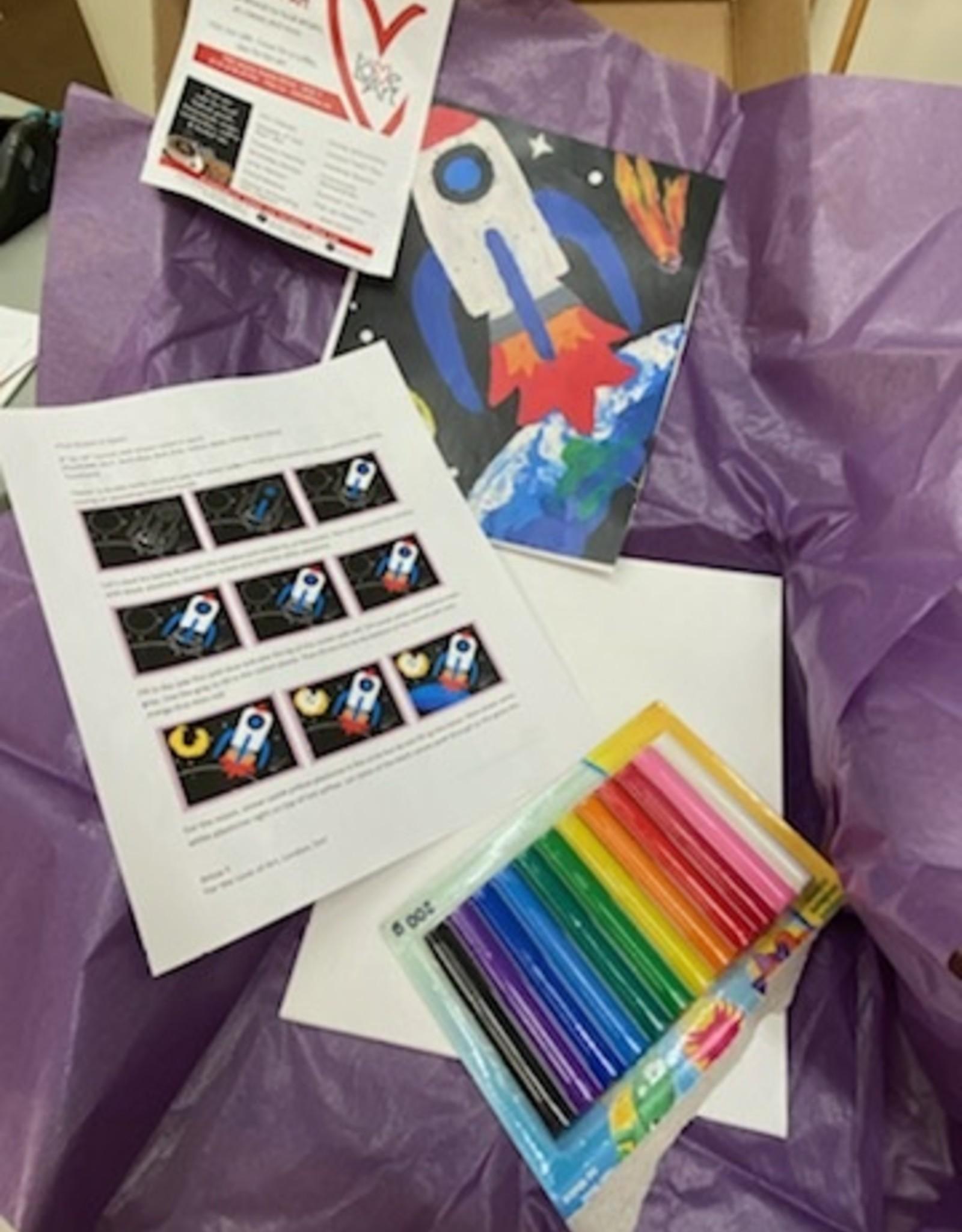 ART KIT Art Kit: Plasticine Relief Rocket