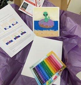 FTLA Art Kit: Plasticine Alien in a Donut