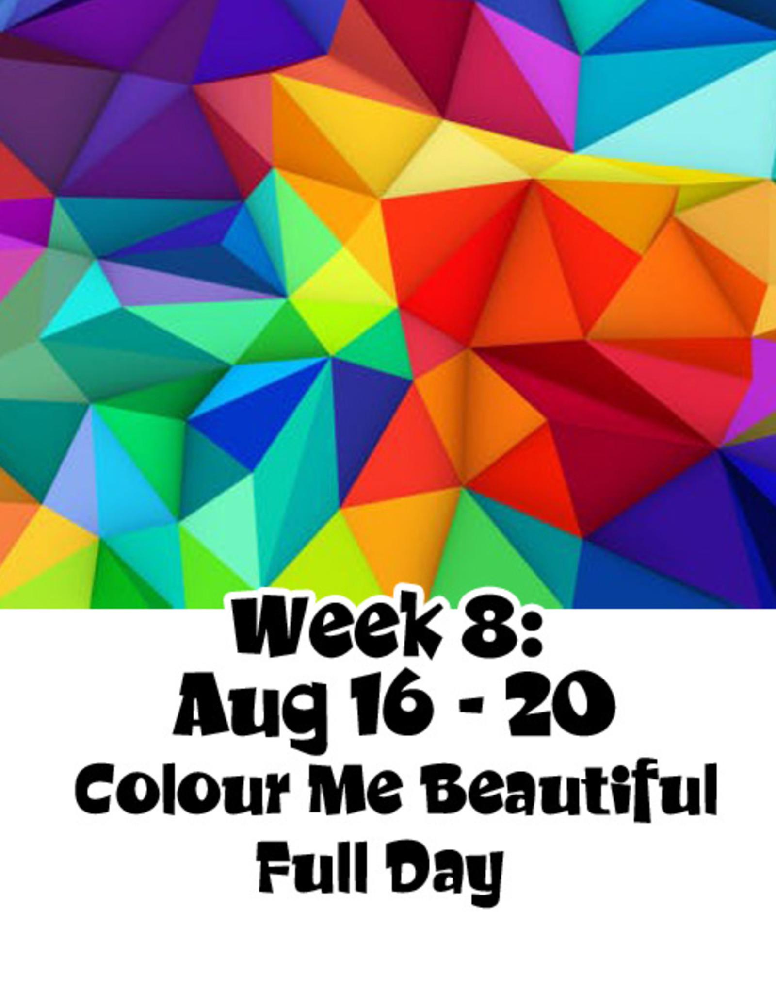 2021 Art Camp 2021 Art Camp Wk Eight Aug 16 - Aug 20 Full Day