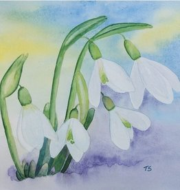 Tamara S Watercolour Art Class Snowdrops Wed May 5  2:00 pm to 4:00 pm