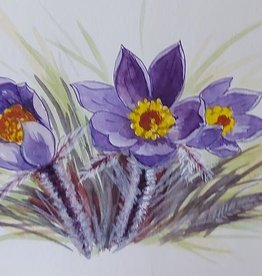 Tamara S Watercolour Art Class Crocuses Tues May 4 11:00 am to 1:00 pm