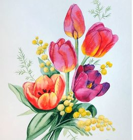 Tamara S Watercolour Art Class Tulips Wed April 21 11:00 am to 1:00 pm