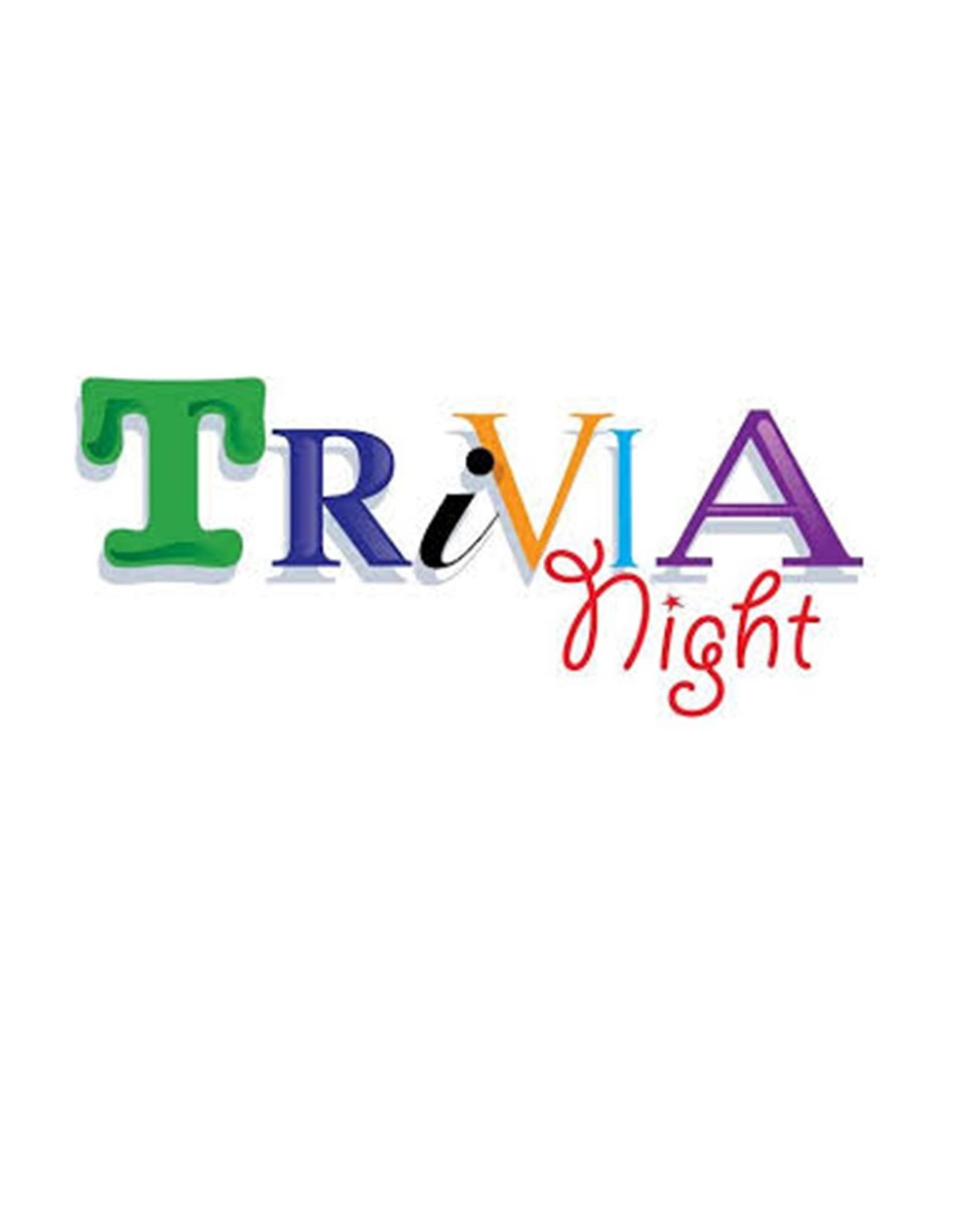 Melissa K Virtual Trivia Night Sat April 24  starts @ 7:00 pm
