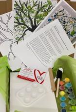 Melissa K Acrylic Virtual Art Kit: Jackson Pollock