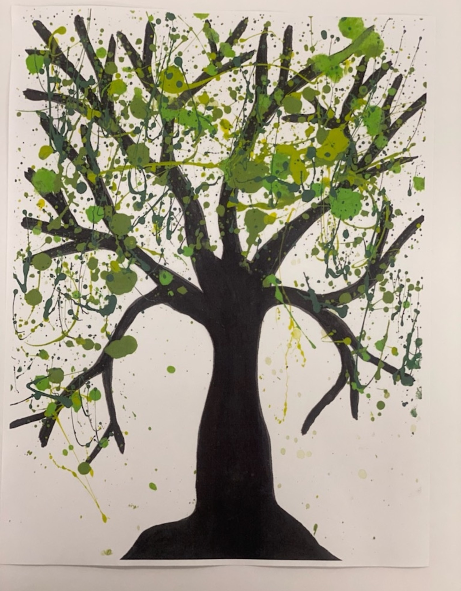 Melissa K Acrylic Virtual Art Class: Jackson Pollock Thurs May 13