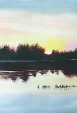 Tamara S Watercolour Art Class Sunset Wed Aug 25  4:00 pm to 6:00 pm