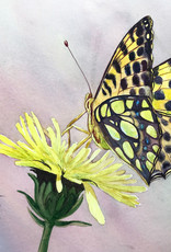Tamara S Watercolour Art Class Butterfly and Flower Wed Sep 1 11am to 2pm