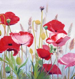 Tamara S Acrylic Art Class - Poppies Wed Sep 22 11am to 2pm