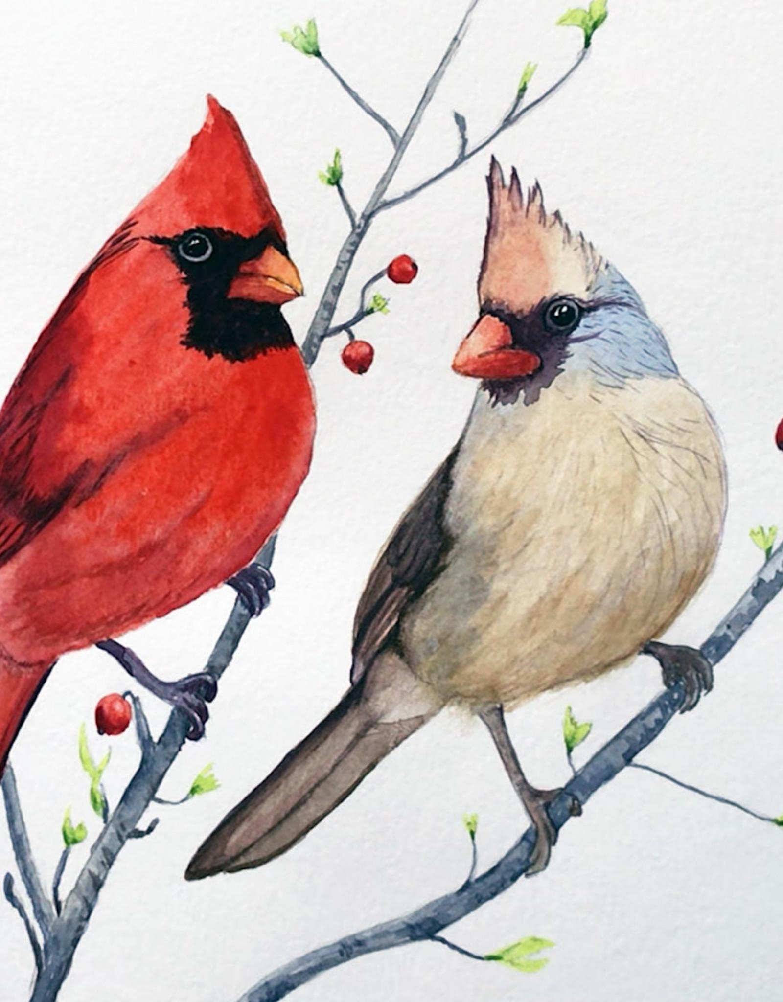 Tamara S Watercolour Art Class Cardinals Wed Sep 8 11am to 2pm