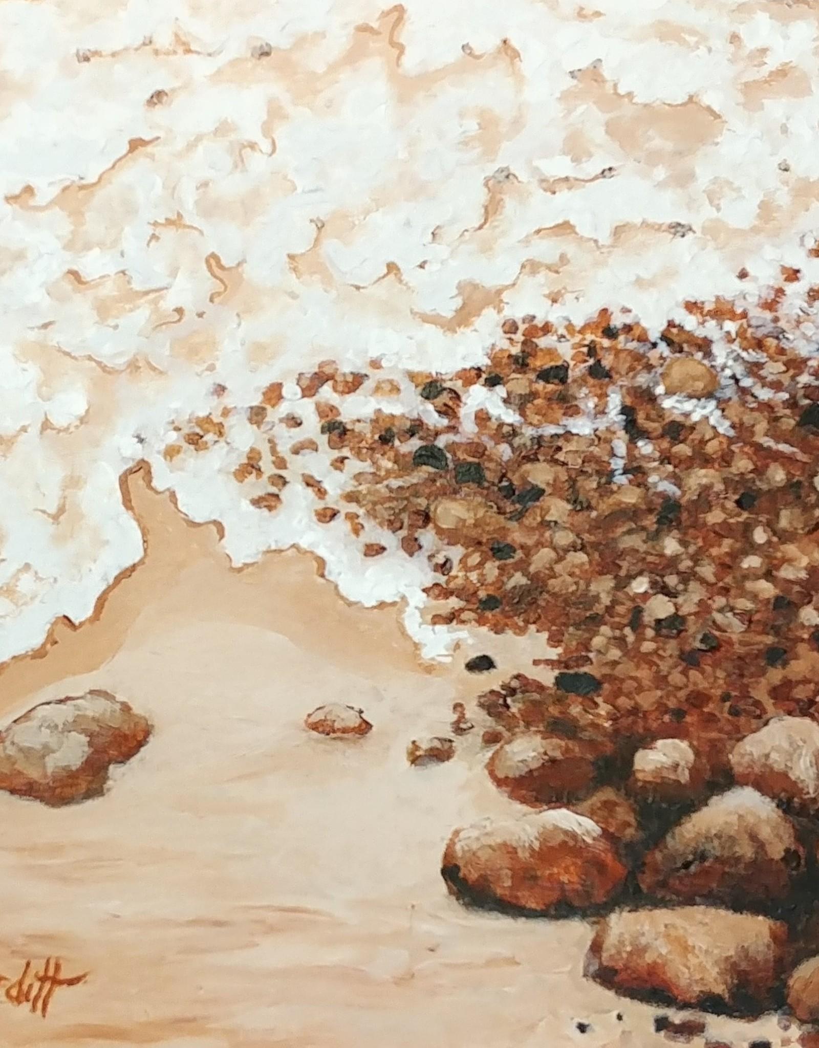 Aura B Acrylic Art Class Stoney Beach Bayfield  Intermediate Level Sat Aug 7 11:00 am to 3:00 pm