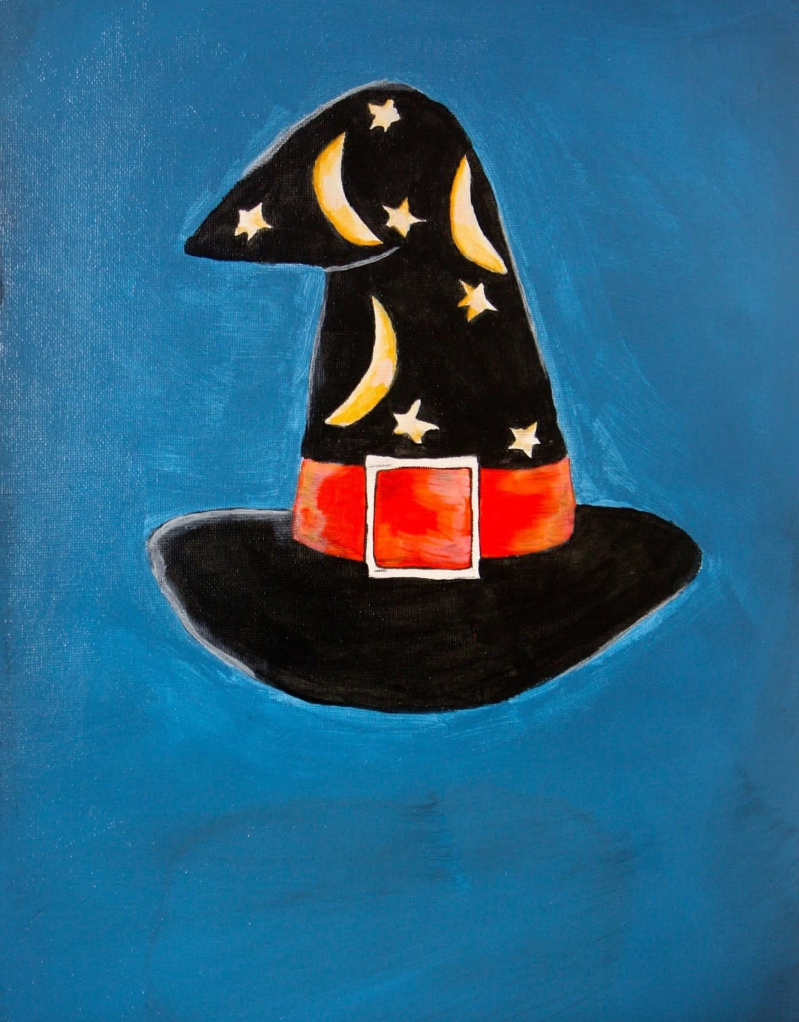 Melissa K Art Class: Witches Hat Sun Oct 17 11:00am to 12:00 pm