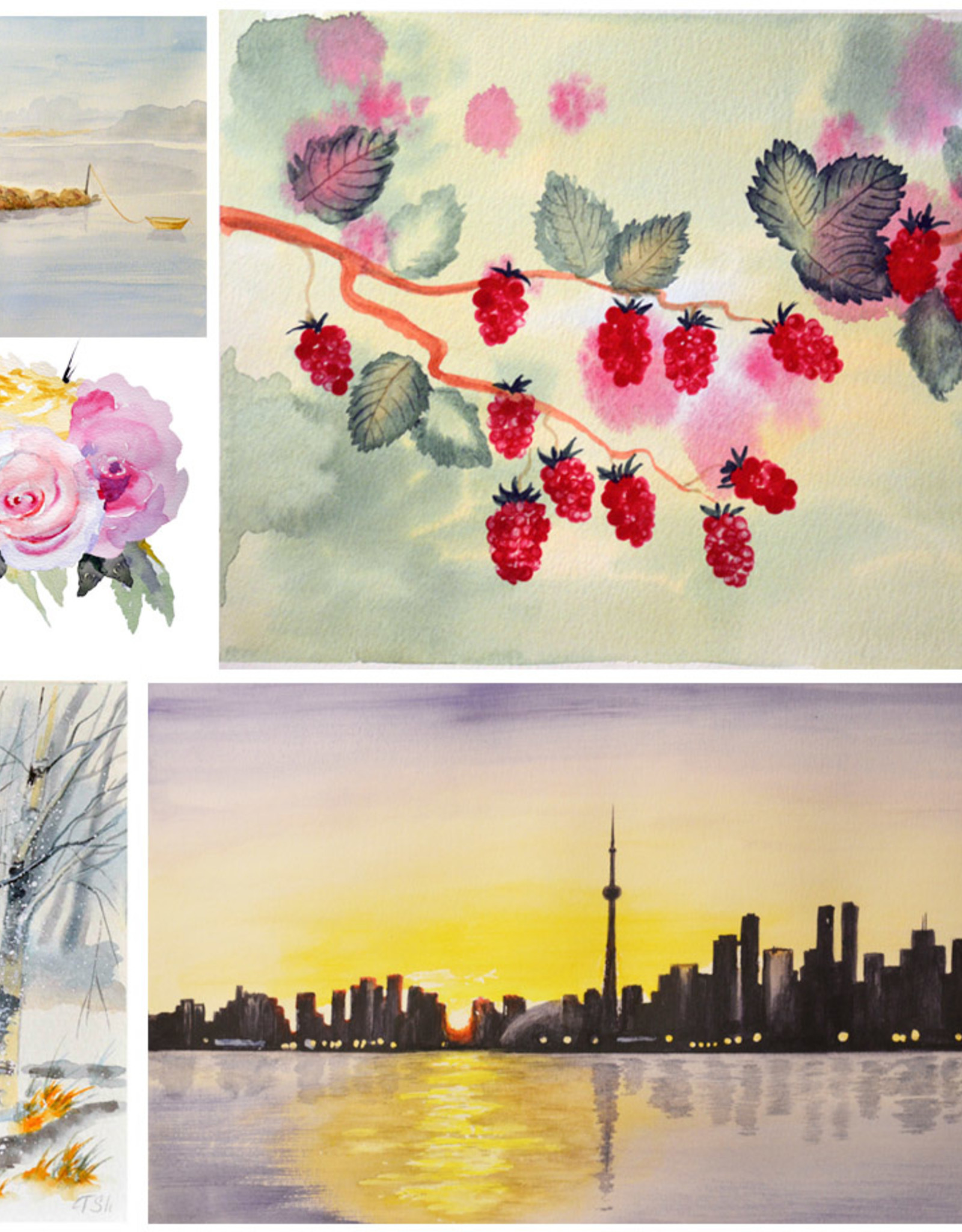 Tamara S Watercolour  Art Class Level two  Tues Oct 5 to Tues Oct 26 4:00 to 6:00 pm