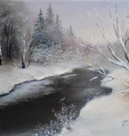Tamara S Acrylic Art Class First Snow Wed Nov 24 3:00  to 6:00 pm
