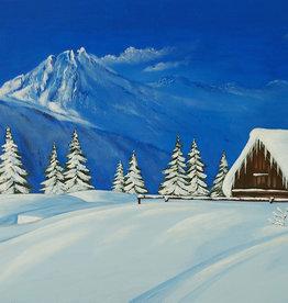 Tamara S Acrylic Art Class Winter House Wed Nov  17 2:00 to 6:30 pm