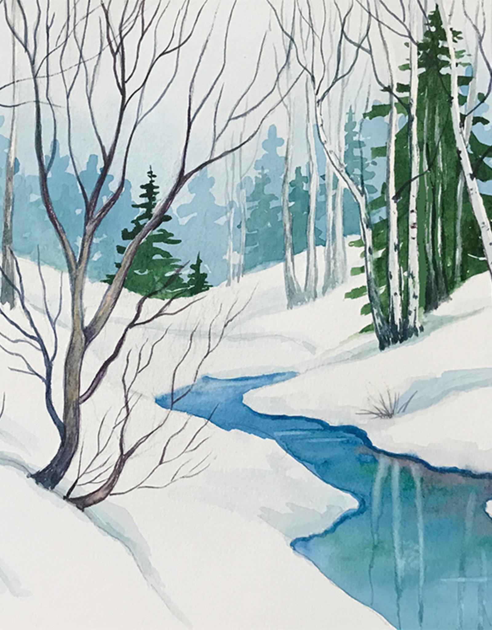 Tamara S Watercolour Art Class Winter Creek Wed Nov 3 1:00  to 3:00 pm