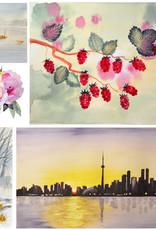 Tamara S Watercolour Level 2 Art Class Tues Nov 2 to Tues Nov 30 1:00 to 3:00 pm